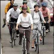 AP: Bikes keep Portlanders slim