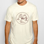 """Everybody Bike!"" T-shirt by Carye Bye"