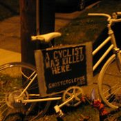 More ghost bikes emerge overnight