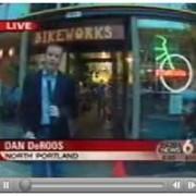 NoPo BikeWorks on TV for Katrina aid