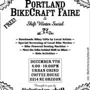 Announcing the Portland BikeCraft Faire!