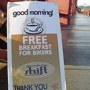 """Cyclists to TriMet:  """"Want a donut?"""""""