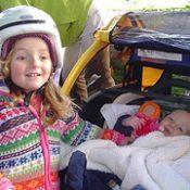 Report:  Danica's first ride!
