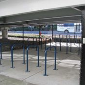 Airport adds public bike parking