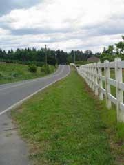 sauvie island road