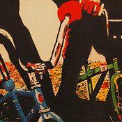 The art of bikes at Alberta Artwalk