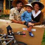 Local family returns from Asian adventure