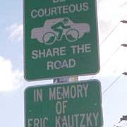 """Eric's Law"" would honor fallen cyclists"