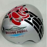 Sneak peek at new Bridge Pedal helmet