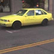 UPDATE: Yellow Car Program spotted downtown