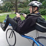Cyclist shares route expertise on new blog