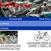 BikeAds.org offers free, local bike classifieds