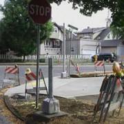 Update: Burnside gets new bike/ped crossing signal