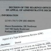 City denies Springwater development appeal