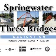 Metro announces three bridges dedication event and celebration