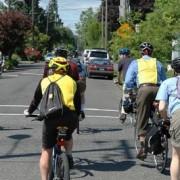 Should bike boulevards be car-free?