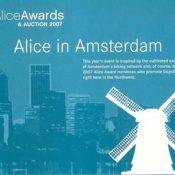 Alice invite reveals Amsterdam influence