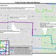 More details on SE Foster bike boulevard