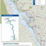 Greenway group completes first vision of new riverfront trail