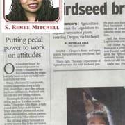 Oregonian columnist sings praises of pedal power