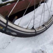Ziptie your tire for better traction
