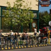 Belmont goes for on-street bike parking