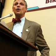Exclusive audio: Bike Commuter Act press conference