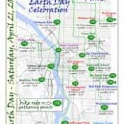 "Help lead a ""citywide bike parade"" on Earth Day"