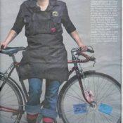 Bike mechanic in Oregonian photo spread