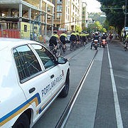 Cops shift Critical Mass patrol duties