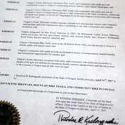 Kulongoski declares April 14th as State Bike Day
