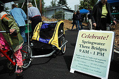 Springwater bash celebrates bounty of the Three Bridges