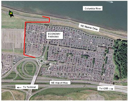 Portland Airport Long Term Parking >> Pdx Airport Will Get New Multi Use Path Bikeportland Org