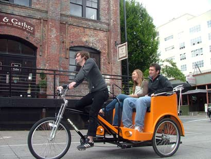 New Pedicab Business Hopes To Offer Taxi Alternative
