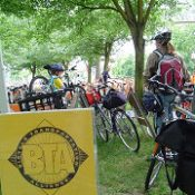 BTA re-thinks valet bike parking services