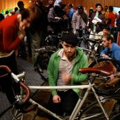 Builders, crowds impress at handmade bicycle show
