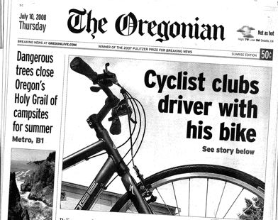 This is the newsstand edition of today s Oregonian. 1176e60aa