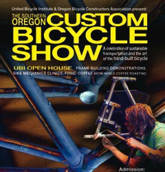 Bike show in Southern Oregon will feature Portland framebuilders