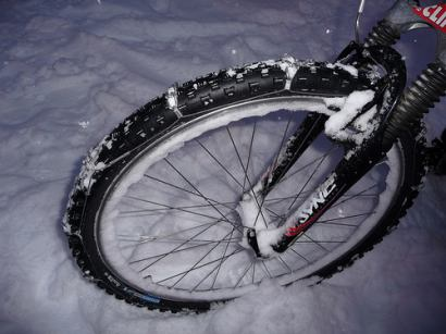 Used Tires Portland >> Beyond studded tires; the ultimate snow bike and bike tire chains - BikePortland.org
