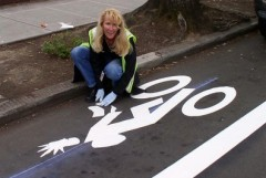 Portland's bike lane characters; a proud tradition continues (Slideshow)
