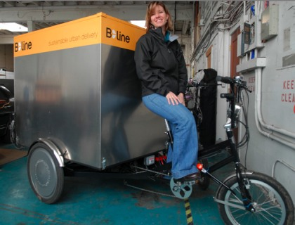 New company takes pedal-powered delivery to the next level