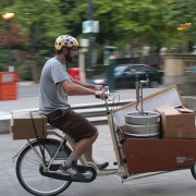 Reader photo of the week: Keg return by bike