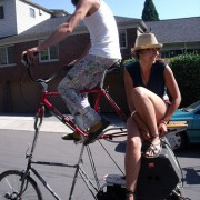 Reader Photos of the Week: Hitching a ride by bike