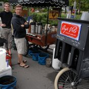 Catching up with Portland's original bike-based coffeeshop