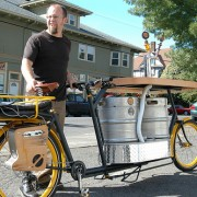 Introducing the Hopworksfiets: Beer, pizza, music, and true Portland spirit, all on one bike