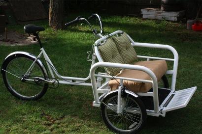 how to make a trike out of a bike