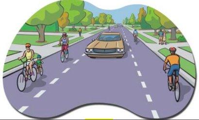 Bikeway design focus: Advisory bike lanes