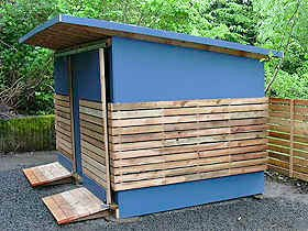 Keep Your Bikes Cozy In A Locally Made Bike Shed