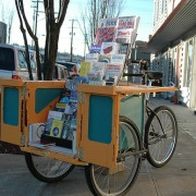 Introducing the Zine Trike, and other printed goods at tomorrow's BikeCraft