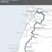 New 'Sierra Cascades' bike route rolls through Gorge, Hood River
